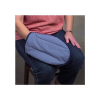 DMI TheraBeads Arthritis Pain Relief Mitt, Microwavable Moist Warm Therapy Relief For Arthritis in Hands and Fingers and Carpal Tunnel Syndrome, One, Blue