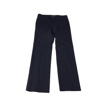Lauren Ralph Lauren Navy Stretch-Twill Straight-Leg Pants 14