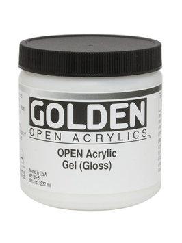 Golden OPEN Acrylic Mediums medium, matte, 4 oz. [pack of 2]