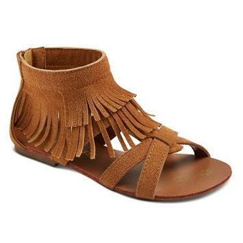 Girls' CoverGirl Shelly Double Fringe Gladiator Sandals