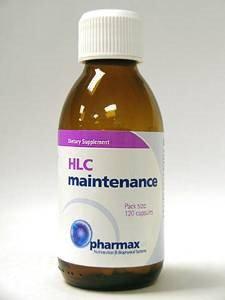 Pharmax HLC Maintenance Probiotics, 120 ct