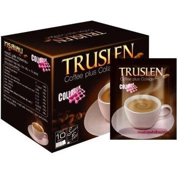 Truslen Coffee Plus Collagen Sugar Free Instant Coffee Diet Slimming 2 Box = 20 Sachets