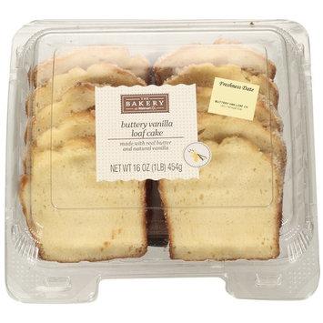The Bakery Vanilla Crème Sliced Loaf Cake, 16 oz