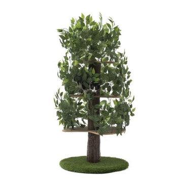 Round Base Cat Tree - 5 ft.