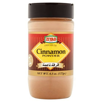 Ziyad Brothers Importing Ziyad, Cinnamon Powder, 4.5 Oz (Pack Of 12)