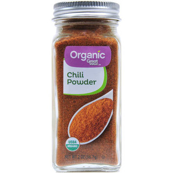 Great Value Organic Chili Powder, 2 oz