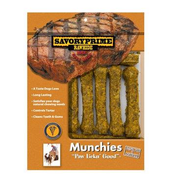 Savory Prime 3-4 Munchie Bone Dog Treat (10 Pack) - Flavor: Chicken