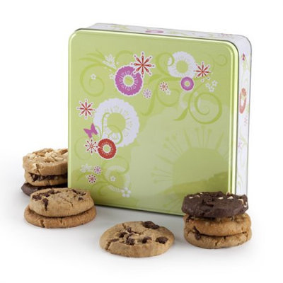 Mrs. Fields Cookie Flower Tin, 12 count