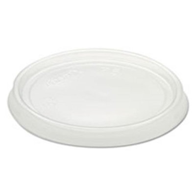 Dcc Concepts DCC 6CLR Non-Vented Container Lids Clear Plastic 100 per Pack - Pack of 10