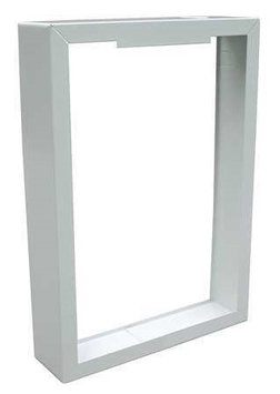 Marley HTWHSM SmartSeries Surface Mounting Frame 16-1/4 Inch Width x 19-3/8 Inch Height x 3-7/8 Inch Depth White