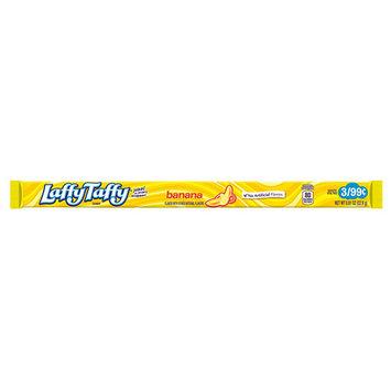 Wonka Laffy Taffy Banana Ropes 0.81 oz Packets - Pack of 24