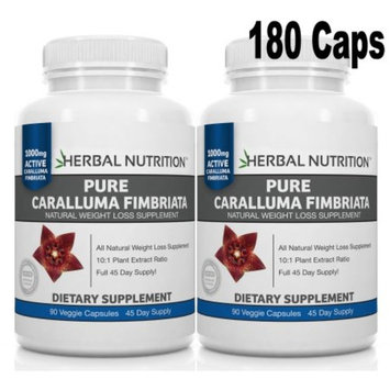 BOGO Sale - Pure Caralluma Fimbriata -Two 90 Count Bottles! 10:1 Extract 1000mg Per Serving