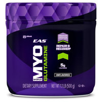 EAS Myoplex Glutamine Powder, Unflavored, 1.1 Lb