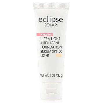 Eclipse Solar Ultra Light Intelligent Foundation Serum SPF 50, Light, 1 Ounce