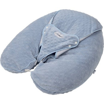 Candide Baby Group CANDIDE Multirelax+ 3-in-1 Pillow, Boa, Steel Blue Embossed