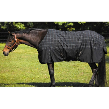Jpc Equestrian TuffRider 1680 D Thermo T/O Blanket 78 Blk/Blu Chk
