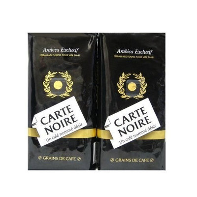 Carte Noire Ground Coffee, 8.8-Ounce Packages (Pack of 2)