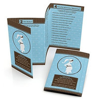 Mommy-To-Be Silhouette - It's A Boy - Baby Shower Games Pack - 5 Games in 1 - Fabulous 5 - Set of 12