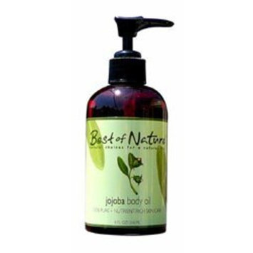 Jojoba Body Oil - 8oz - 100% Pure & Natural - For Body & Hair!