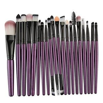Makeup Brush Set MAANGE 20 Pieces Professional Eye Makeup Cosmetics Brush Set(Purple)