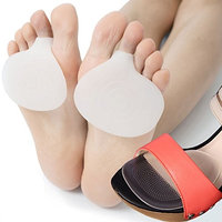 DR JK Ball of Foot Cushions - 2 Pairs Metatarsal Pads for Instant Pain Relief