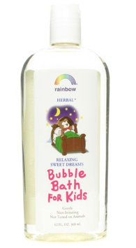 Rainbow Research Organic Herbal Bubble Bath For Kids Original Scent - 12 fl oz - HSG-102046