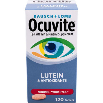 Bausch & Lomb Ocuvite Eye Vitamin & Mineral Supplement with Lutein 120 Each