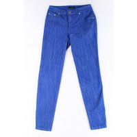 Iman NEW Blue Wome'ns Size 2 Skinny Fit Three Pocket Stretch Jeans