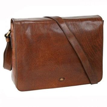 The Bridge Story Uomo Leather Messenger Bag 38 Cm