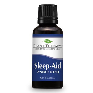 Plant Therapy Sleep Aid Synergy Essential Oil Blend 30 mL (1 fl. oz.) 100% Pure, Undiluted, Therapeutic Grade