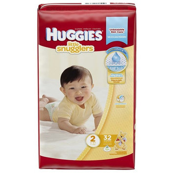 Baby Diaper Huggies Tab Closure Size 2 Disposable - Package of 32