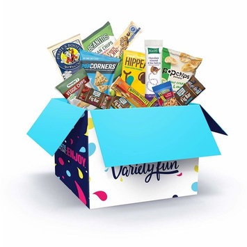 Variety Fun Healthy Office Snacks (100 Count) - Bulk Assortment - Over 10 Pounds of Chips Cookies & Candy