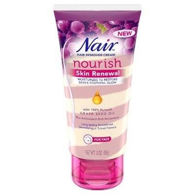 Nair™ Skin Renewal Grape Seed Oil Hair Removal Cream for Face - 3oz