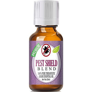 Pest Shield Essential Oil Blend 100% Pure, Best Therapeutic Grade - 30ml - Comparable to DoTerra's TerraShield Essential Oil Blend by Healing Solutions