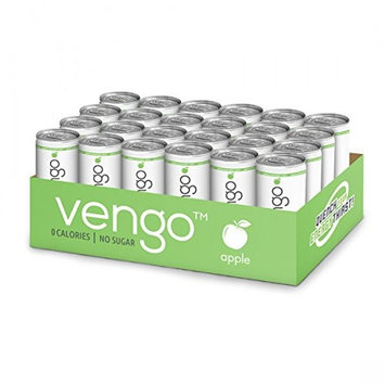 VENGO Energy Drink Sugar Free Zero Calories - Apple (Apple) (Pack of 24)