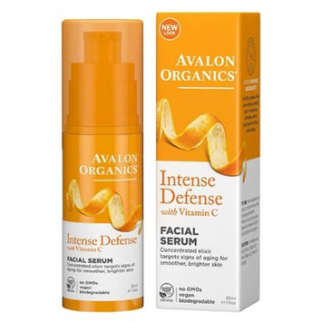 Avalon Organics Intense Defense with Vitamin C, Facial Serum 1 oz [Facial Serum]