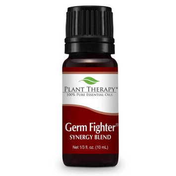 Plant Therapy Germ Fighter Organic Synergy 10 mL (1/3 fl. oz.) 100% Pure, Undiluted, Therapeutic Grade