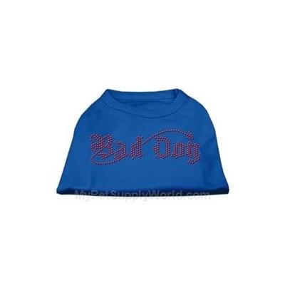Ahi Bad Dog Rhinestone Shirts Blue Med (12)