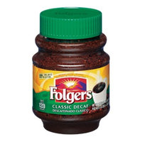 Folgers® Classic Medium Roast Instant Coffee - Decaf - 8oz