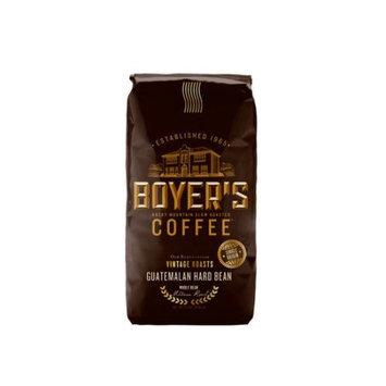 Boyer's Coffee Guatemalan Hard Bean Whole Bean Coffee, 12 oz