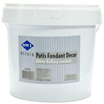 White Rolling Fondant - 1 pail, 10 lbs