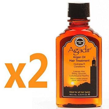 Agadir Argan Oil Hair Treatment 2.25 fl oz (Set of 2) by Agadir