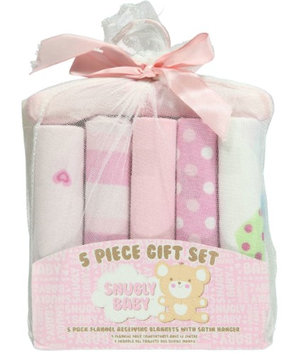 Snugly Baby Everything Nice 5-Pack Receiving Blankets Gift Set