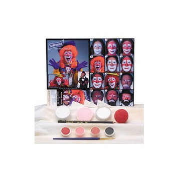 Auguste Clown Makeup Kit
