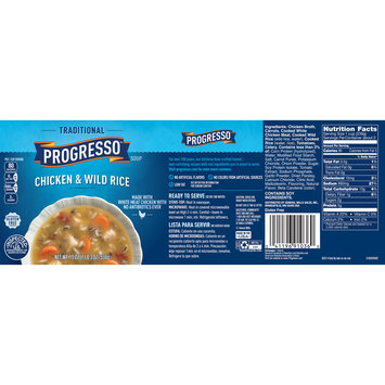 Progresso Traditional Chicken and Wild Rice Soup, 19 oz