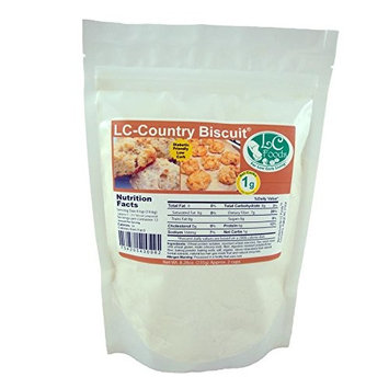 Low Carb Biscuit Mix - LC Foods - All Natural - No Sugar - Diabetic Friendly - 8.28 oz