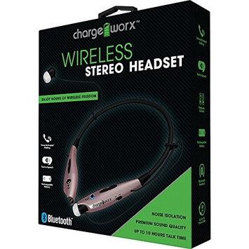 Chargeworx Wireless Bluetooth Earbud Neckband Headphone