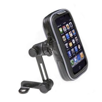 SHAD X0SG10M Soft Luggage Phone Case Mirror, 4.3-inch, Black []