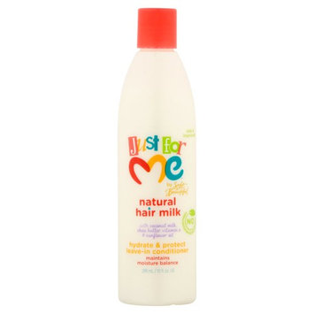 Just for Me Natural Hair Milk Oil Hydrate & Protect Leave-In Conditioner 10 fl. oz. Bottle