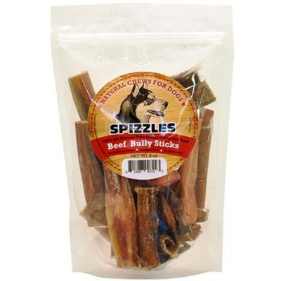 Spizzles Beef Bully Sticks [Options : 8 oz]